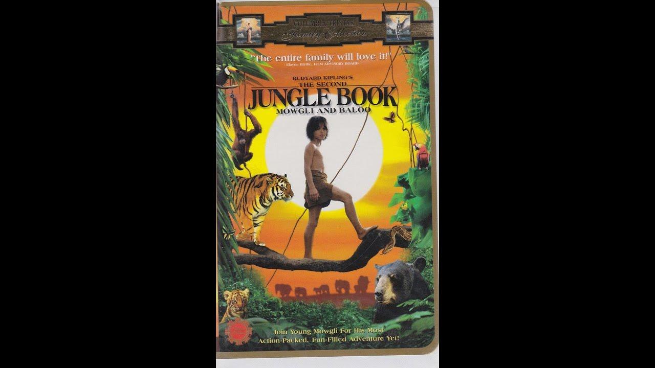 The jungle book 1997 vhs
