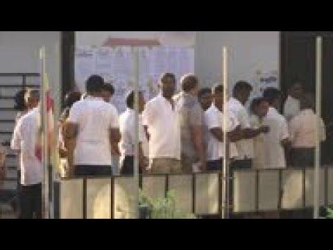 Voting starts in Sri Lanka's presidential election
