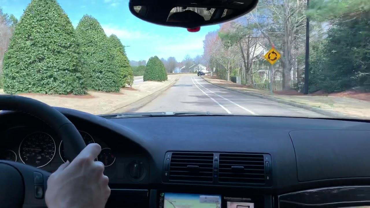2003 BMW M5 (E39) Touring/Wagon: Driving, Shifting, Cabin Noise