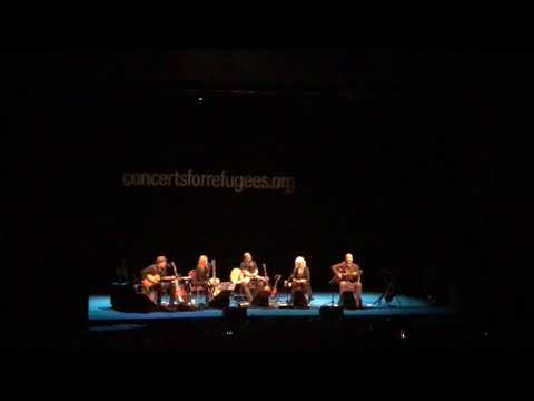 Dave Matthews in Seattle - singing solo - Mercy - Lampedusa
