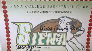Siena College Basketball Camp