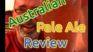 Australian Pale Ale Review made by Jakeanddar