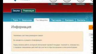 Электронные торги(, 2010-10-02T10:56:10.000Z)