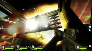 Left 4 Dead 2 Multiplayer Playthrough / Gameplay Part 4 Hard Rain Ellis Full HD 1080