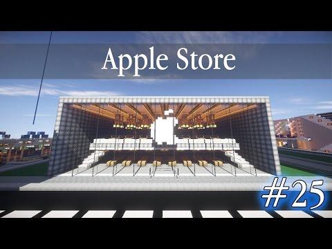 #25 Apple Store в Minecraft!!! Большой Город в Minecraft!!!