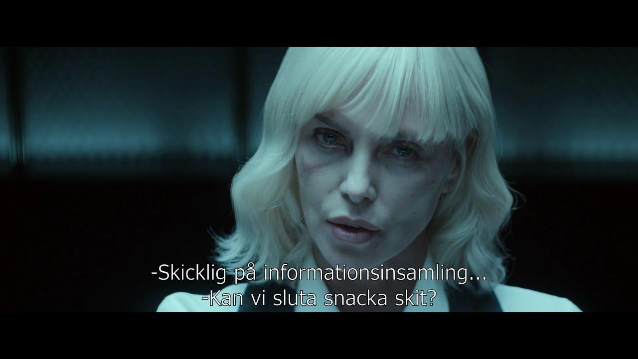 Atomic Blonde svensk trailer