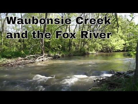 Fox River in Oswego, Illinois