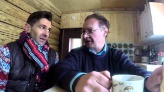 Илья Верин за кадром съемки в программе Фазенда Первый канал