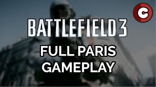 Battlefield 3 Campaign - Full Paris Gameplay