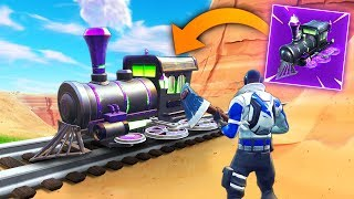 *NEW* TRAINS COMING TO FORTNITE?! | Fortnite Funny and Best Moments Ep.290 (Fortnite Battle Royale)
