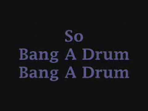 Bang a Drum- Selena Gomez (With Lyrics)