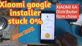 Cara Install Playstore Di Xiaomi Miui 11 Rom China Youtube
