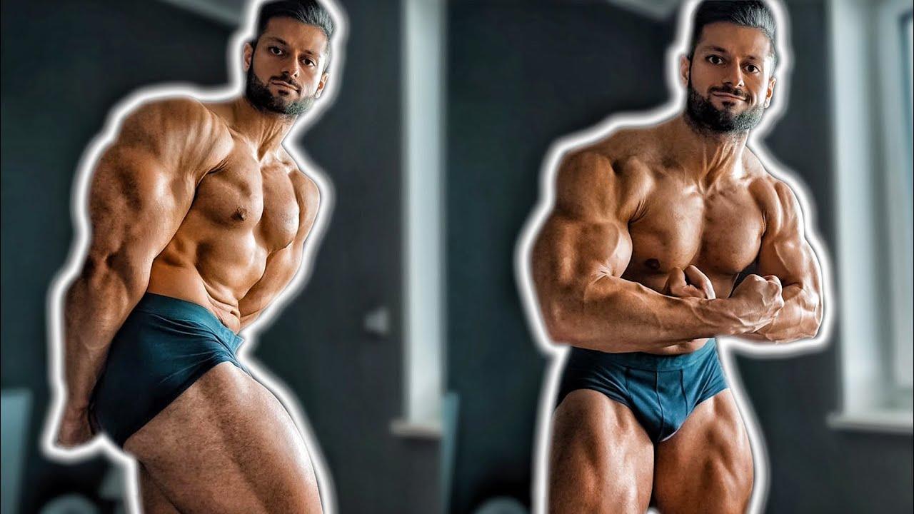 Formcheck nach 8 Wochen Diät & neues Push Bodybuilding Training