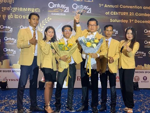 CENTURY 21 Cambodia Family First Annual Convention 2018