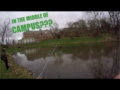 FISHING ON CAMPUS | Ohio University