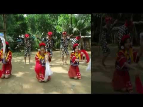 THE KAAMULAN TRIBE dance... (THE ART PROJECT) by: BESSY