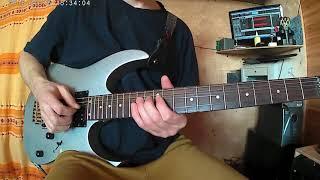 Соло на гитаре Отель Калифорния Eagles 1часть (медленно)