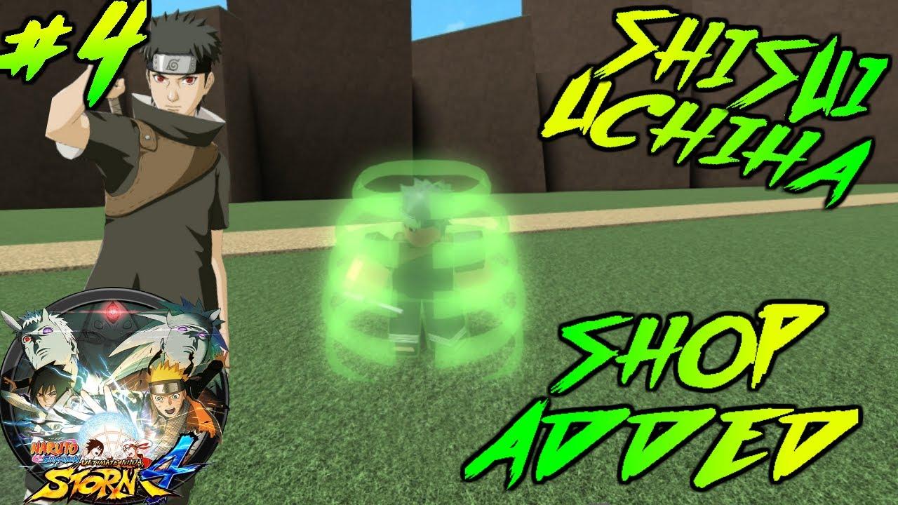 ROBLOX NSUNS4 Revamped #4 - SHISUI UCHIHA   SHOP IS OUT