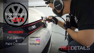 """Volkswagen Golf  GTI """" Pure White """" Full Detailing & paint correction"""