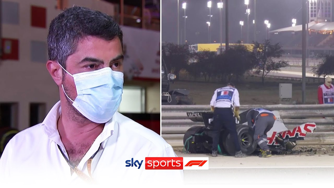 F1 Race Director Michael Masi on response to Grosjean crash, safety protocol and track inspections