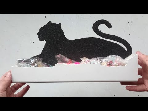 Органайзер своими руками ❃ Как сделать шкатулку формай пантеры.