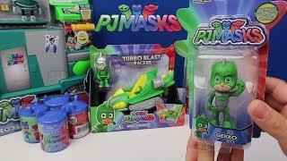 Pijamaskeliler Türkçe - çizgi film oyuncakları açıyoruz çocuklar için Uzay Aracı Bidünya Oyuncak