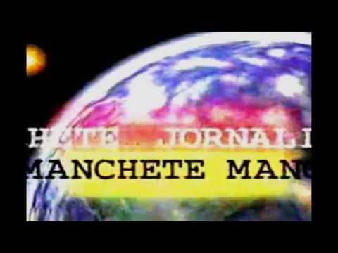 Jornal da Manchete (1997) - Vinheta com áudio alternado