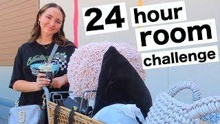 24 HOUR ROOM TRANSFORMATION!