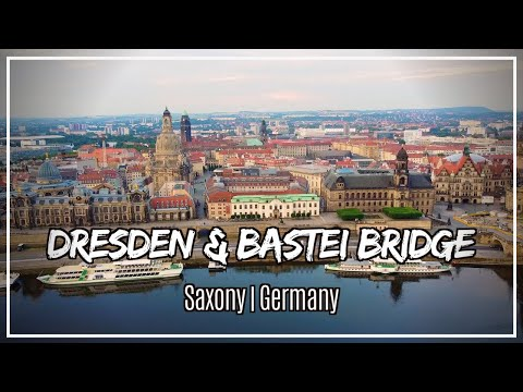 A Road Trip Visit to Dresden & Bastei Bridge in Saxony Germany!