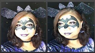 Batgirl makeup tutorial