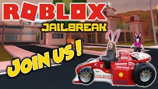 ROBLOX LIVE STREAM !! -Jailbreak, Phantom Forces and much more ! - COME JOIN THE FUN !!! - #119
