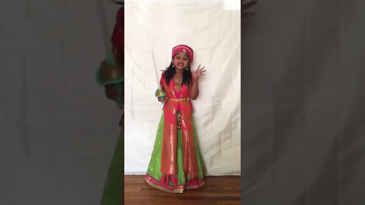 Nanditaa Karthikprabhu (Acting Submission)- A Series of Online Summer Competition for Children 2020