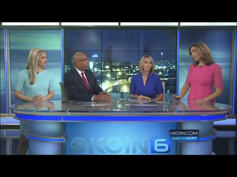 KOIN 6 Films UFOs During Live Newscast. Portland, Oregon. January 4, 2018