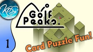 Golf Peaks Ep 1:  COMPLETELY NOT ABOUT GOLF! - Puzzle on the go! - First Look, Let's Play, Gameplay screenshot 5