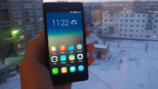 ОБЗОР Emotion UI 3.0  (Android 4.4 kitkat) НА HUAWEI HONOR 3