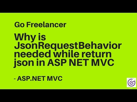 Why is JsonRequestBehavior needed while return json in ASP NET MVC