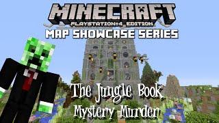 PS3/PS4 Minecraft Map Showcase: Episode 99 Jungle Book Murder Mystery