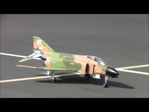 Freewing 90mm F-4 Phantom II and MiG-21 - VIETNAM WAR TRIBUTE FLIGHT! AEF 2018