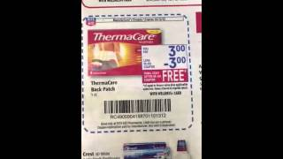 Free Therma Care Heat Wraps At Rite Aid