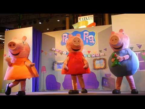 Peppa Pig Christmas Show 2015 @ Market Market