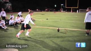 Field Goal Competition | National Underclassman Challenge | Kohl's Kicking Camps
