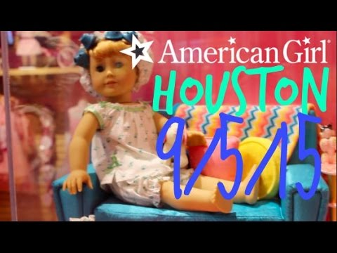American Girl Store Houston 9/5/15