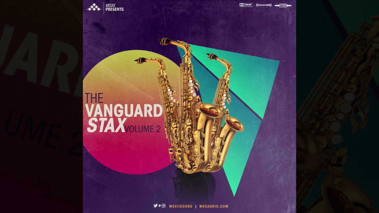 Soulful, Jazzy Saxophone Samples - The Vanguard Stax Vol  2