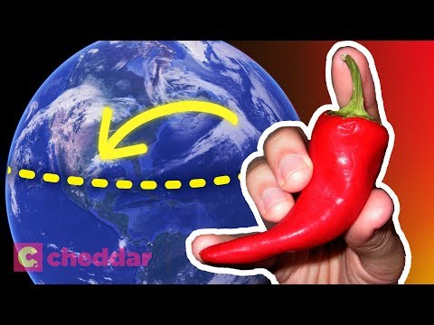 The Real Reason Equatorial Cultures Eat Spicy Food - Cheddar Explores