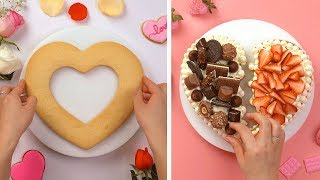 So Yummy Happy Valentine's Day Cake Decorating Ideas | Most Satisfying Cake Videos