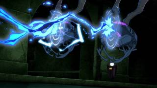 Young Justice - Black Lightning and Virgil