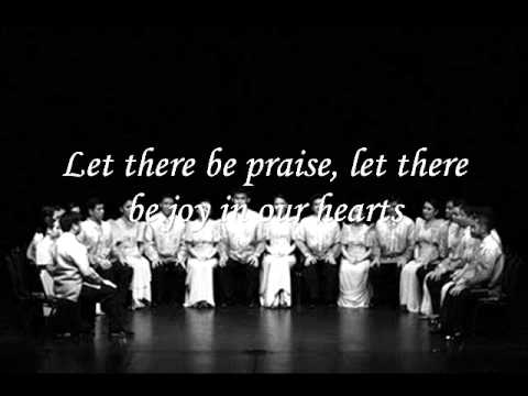 Let there be praise - Philippine Madrigal Singers [HQ]