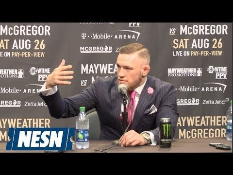 Floyd Mayweather Sr. Crashes Conor McGregor's World Tour Presser