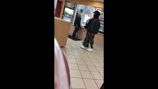 Fight at KFC in the Bronx