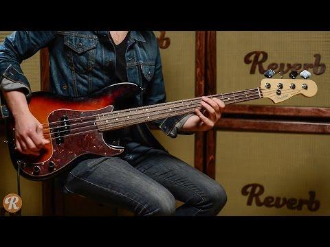 Fender American Standard Precision Bass Demo